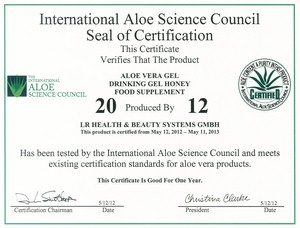 the international aloe science council